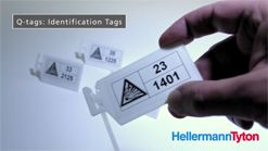 Q-Series - Q-tags: Identification tags for marking cable bundles